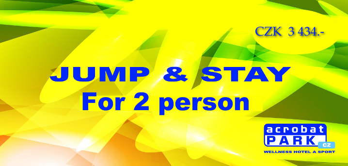 package JUMP & STAY FOR 2