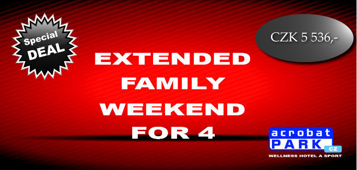 package EXTENDED FAMILY WEEKEND FOR 4